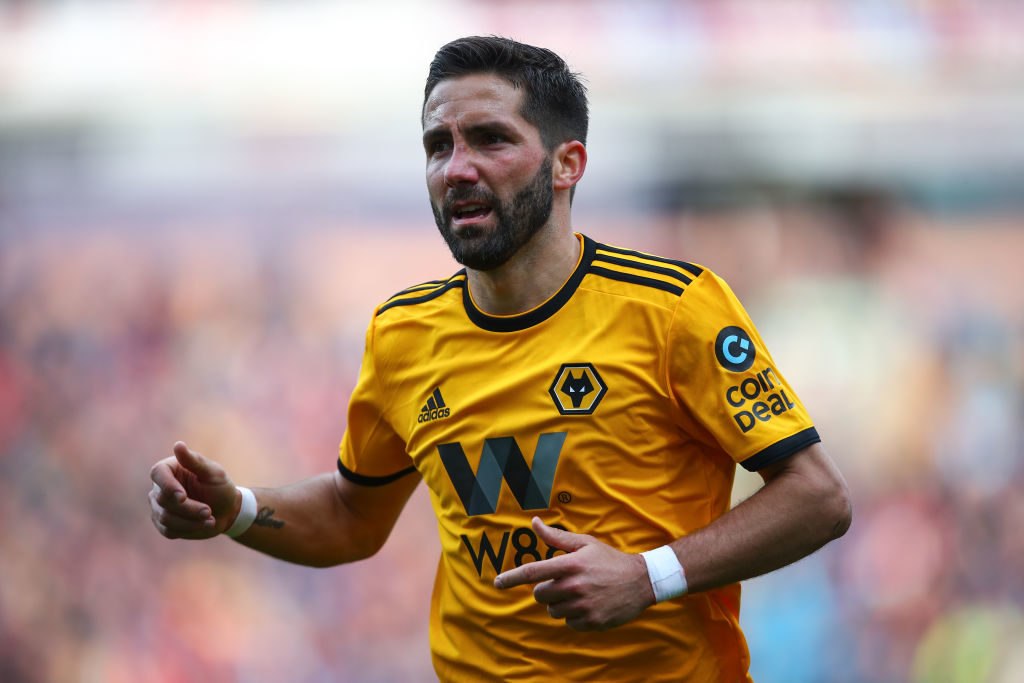 Joao Moutinho playing against Burnley
