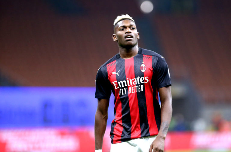 Rafael Leao  of Ac Milan   during the  Serie A match
