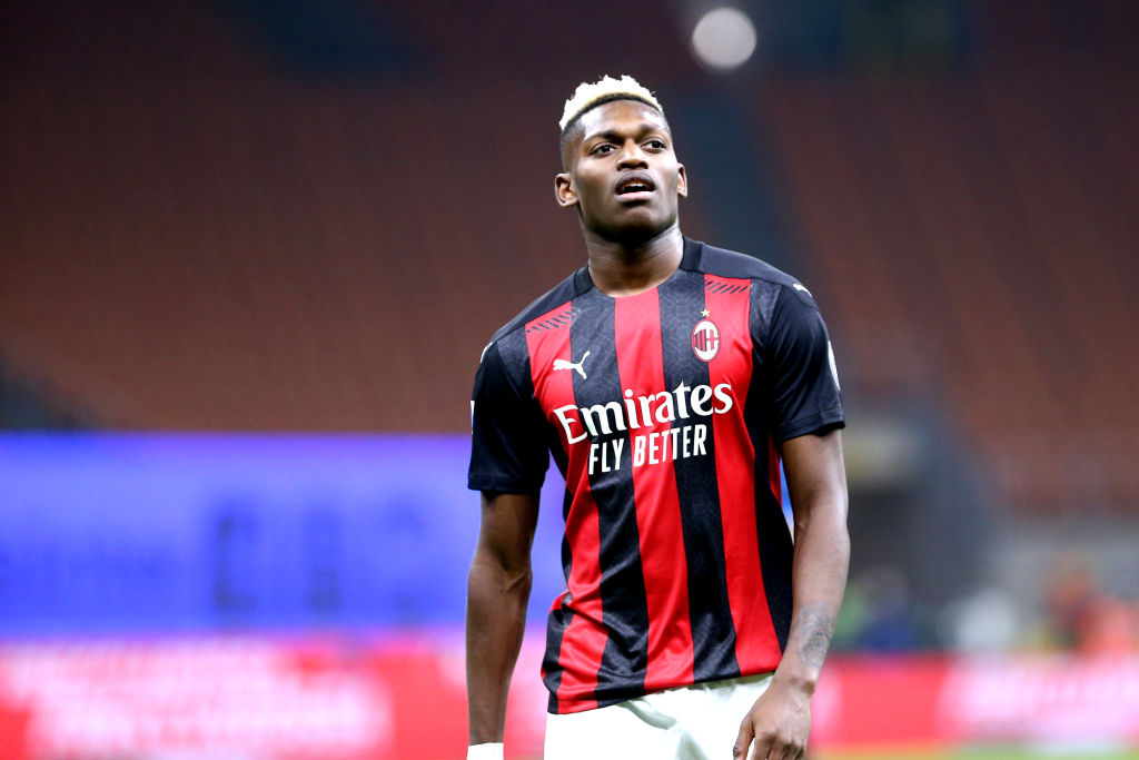 Rafael Leao of Ac Milan during the Serie A match...