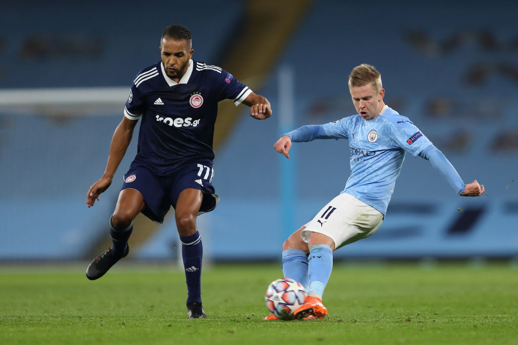 Manchester City v Olympiacos FC: Group C - UEFA Champions League