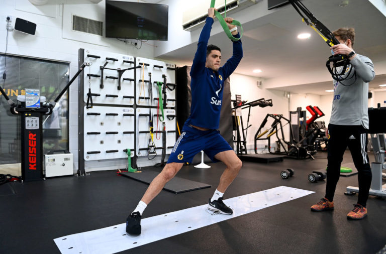 Raul Jimenez Continues his Rehabilitation at Wolves