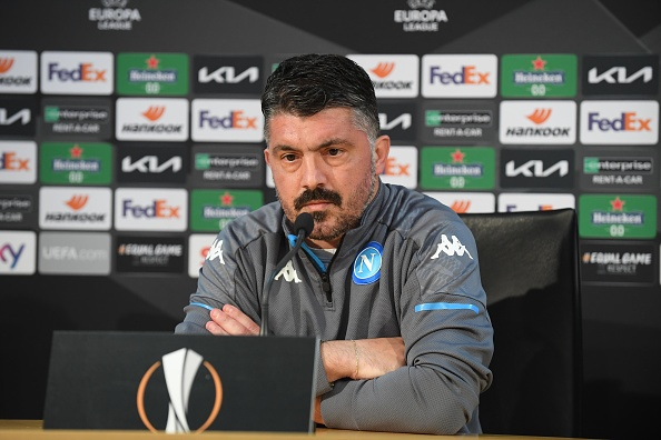 SSC Napoli Training Session & Press Conference