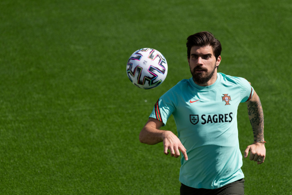 Ruben Neves of Portugal seen in action during the training