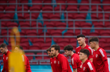 Wales Training Session and Press Conference - UEFA Euro 2020: Round of 16