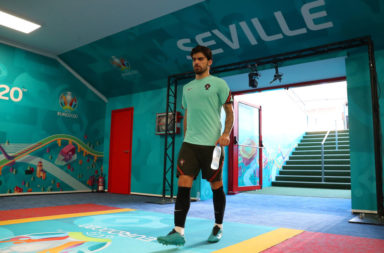 Portugal Training Session and Press Conference - UEFA Euro 2020: Round of 16