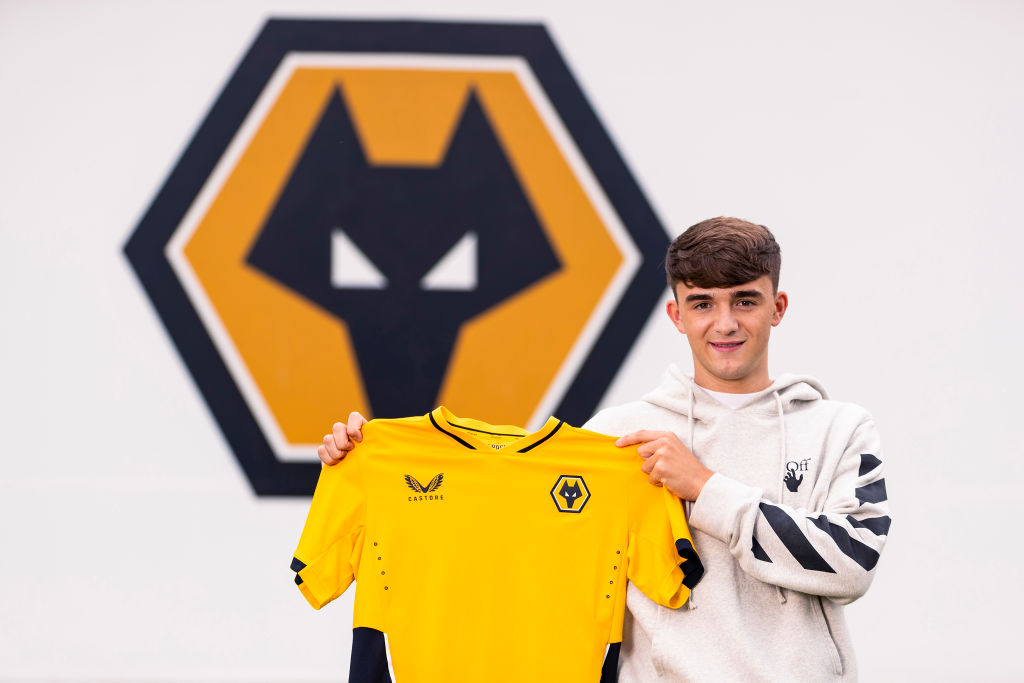 Wolverhampton Wanderers Unveil New Signing Harvey Griffiths